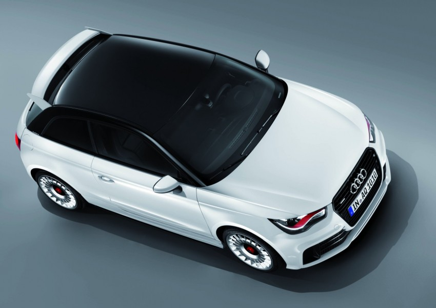 Audi A1 quattro: 256 hp and 350 Nm, only 333 units Image #81112