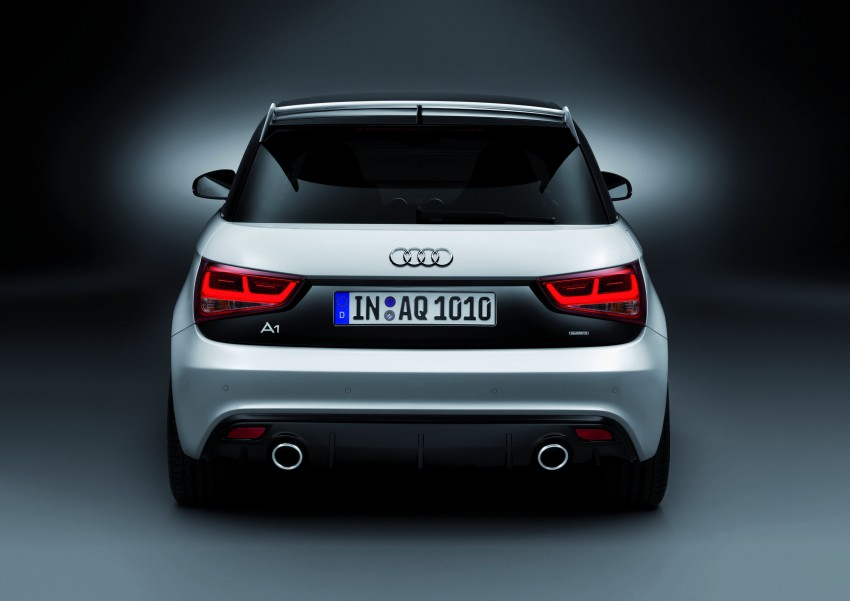Audi A1 quattro: 256 hp and 350 Nm, only 333 units Image #81100