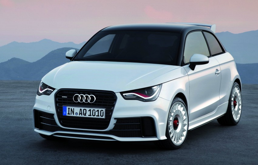 Audi A1 quattro: 256 hp and 350 Nm, only 333 units Image #81102