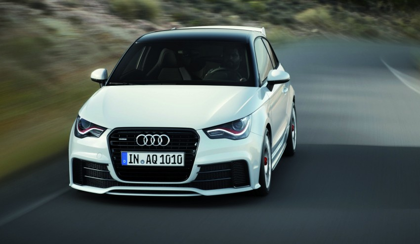 Audi A1 quattro: 256 hp and 350 Nm, only 333 units Image #81105