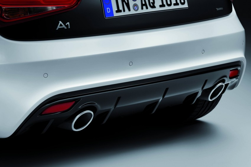 Audi A1 quattro: 256 hp and 350 Nm, only 333 units Image #81090