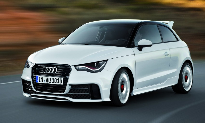 Audi A1 quattro: 256 hp and 350 Nm, only 333 units Image #81094