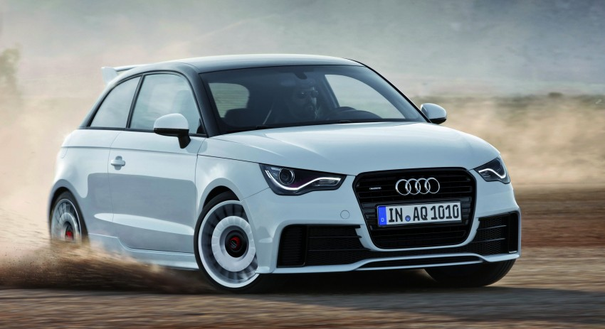 Audi A1 quattro: 256 hp and 350 Nm, only 333 units Image #81095