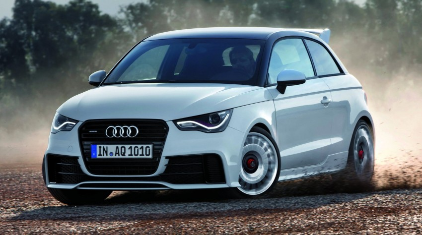 Audi A1 quattro: 256 hp and 350 Nm, only 333 units Image #81096