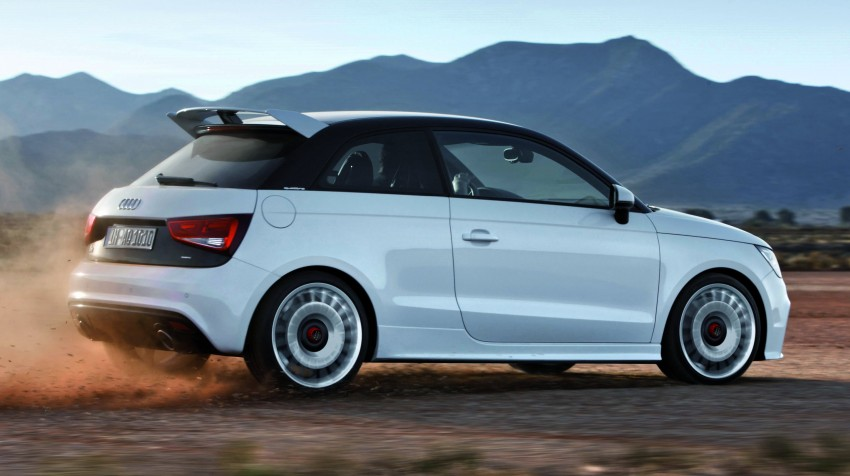 Audi A1 quattro: 256 hp and 350 Nm, only 333 units Image #81098