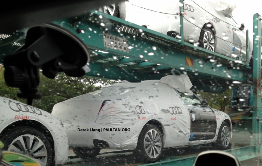SPIED: Audi A6 Hybrid in Malaysia, launching soon? Image #151281