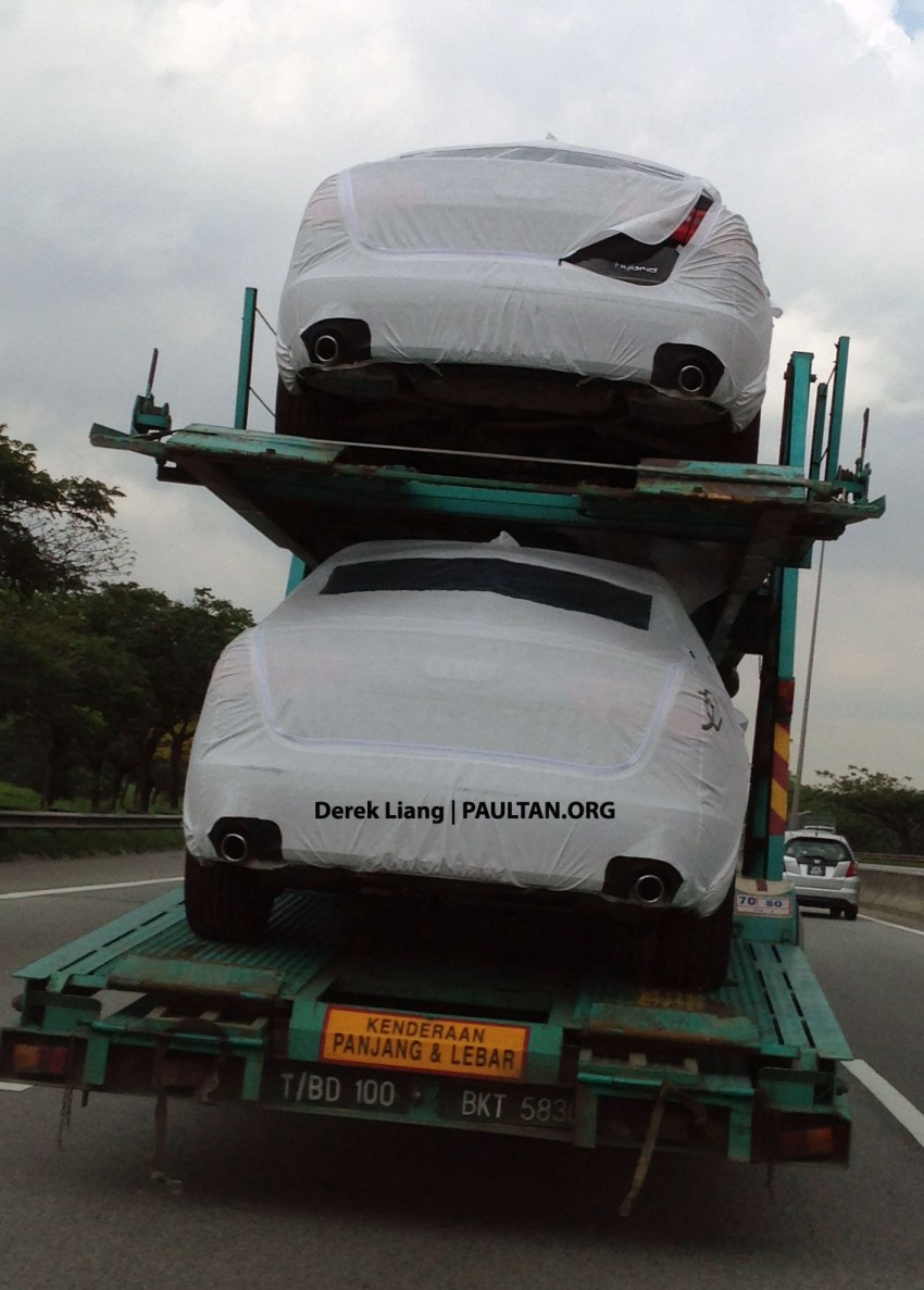 SPIED: Audi A6 Hybrid in Malaysia, launching soon? Image #151282