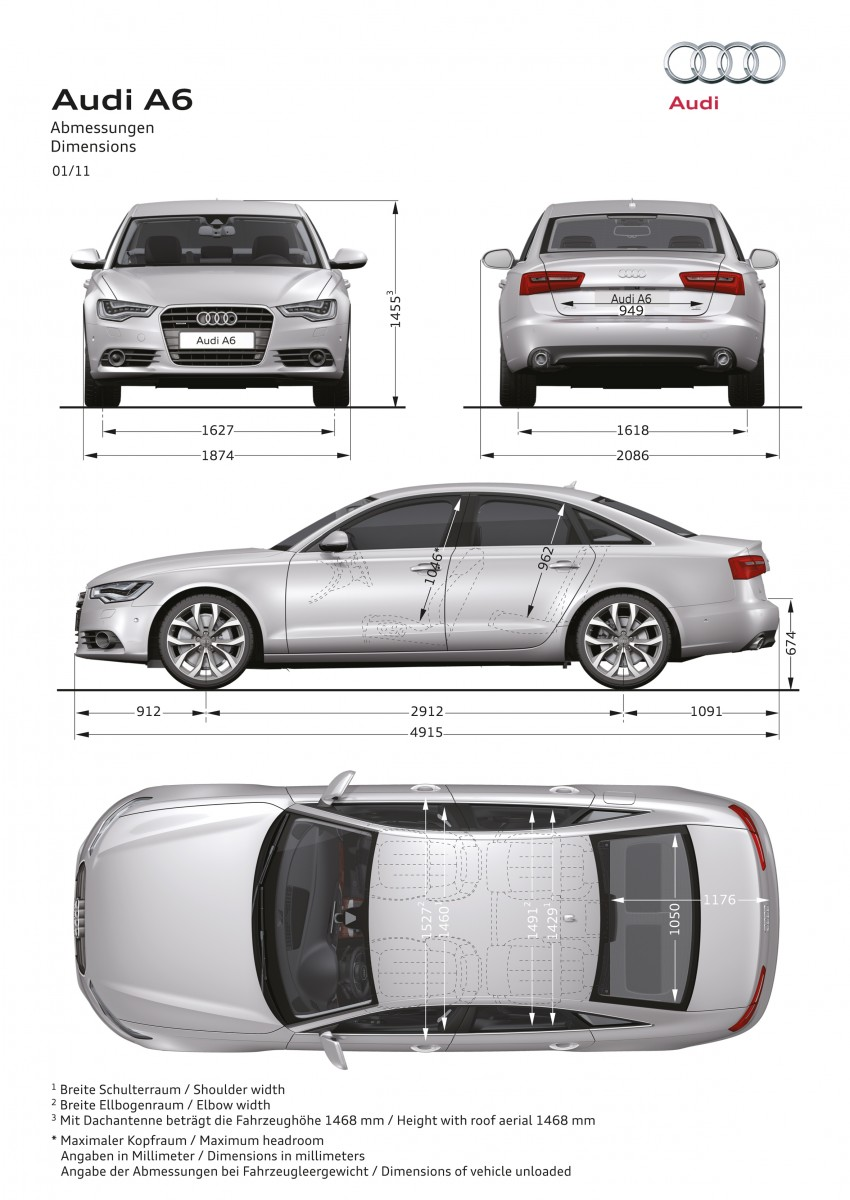 Audi A6 3.0L TFSI quattro launched in Malaysia – RM515k! Image #67859