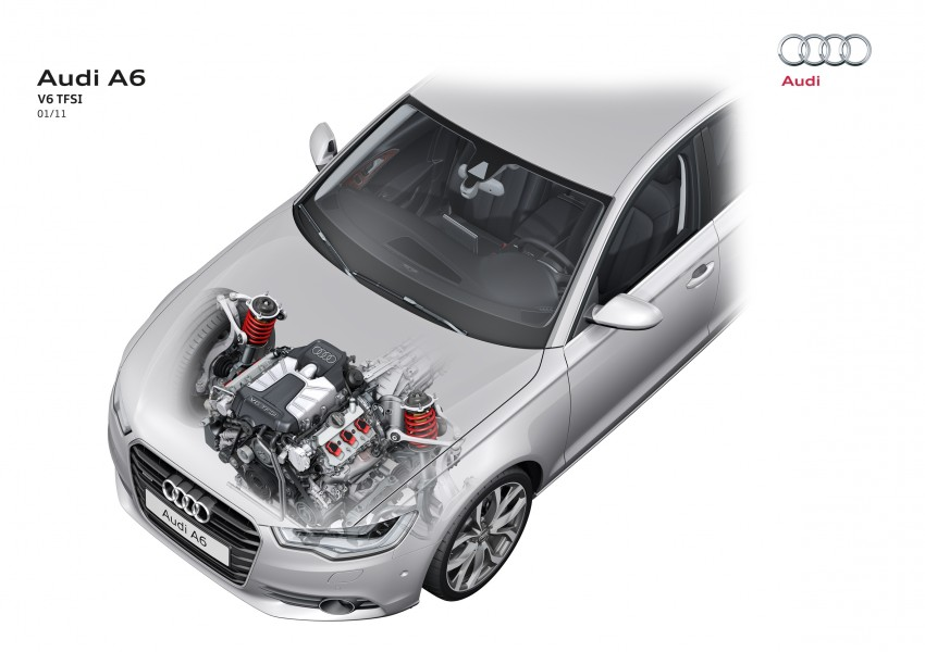 Audi A6 3.0L TFSI quattro launched in Malaysia – RM515k! Image #67865