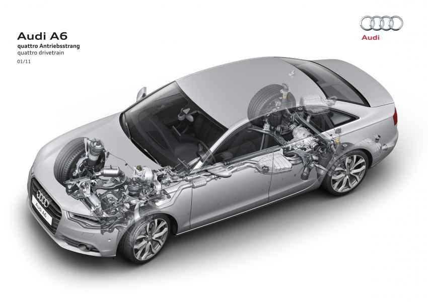 Audi A6 3.0L TFSI quattro launched in Malaysia – RM515k! Image #67869