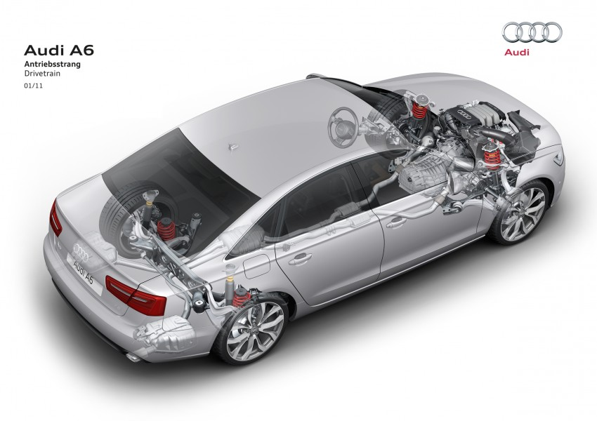Audi A6 3.0L TFSI quattro launched in Malaysia – RM515k! Image #67870