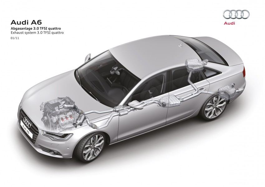 Audi A6 3.0L TFSI quattro launched in Malaysia – RM515k! Image #67876