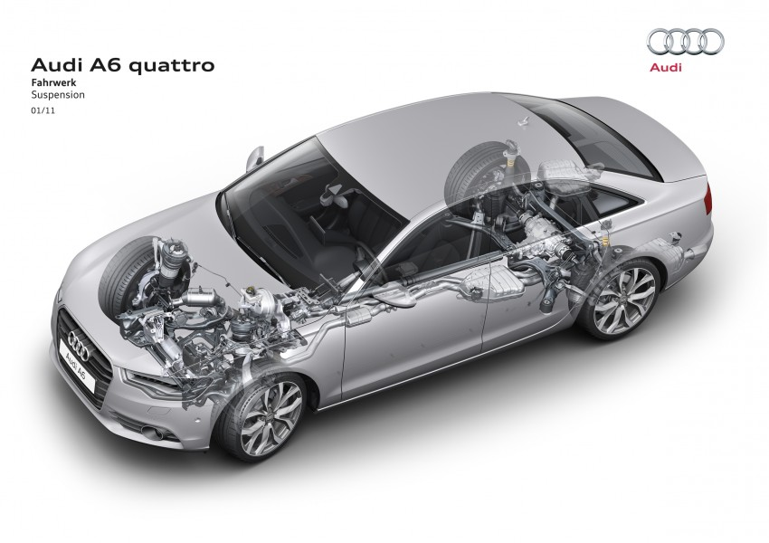 Audi A6 3.0L TFSI quattro launched in Malaysia – RM515k! Image #67884