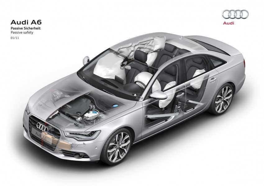 Audi A6 3.0L TFSI quattro launched in Malaysia – RM515k! Image #67914