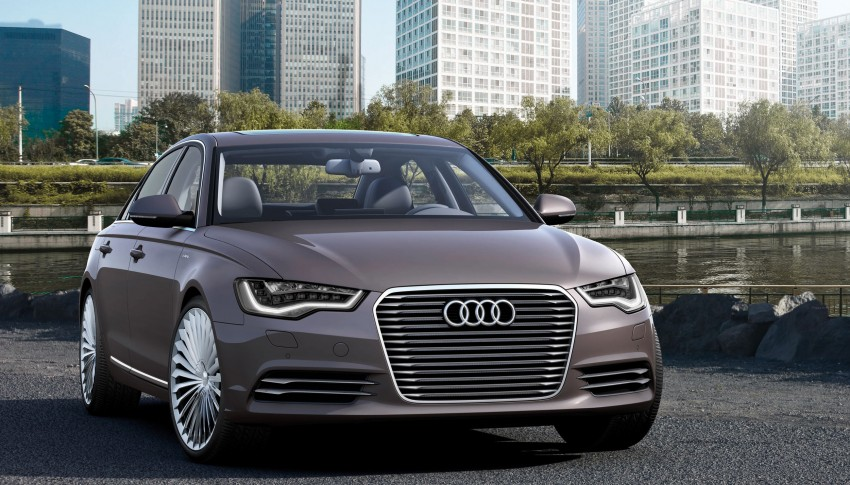 Audi A6 L e-tron concept reduces emissions, not luxury Image #102350