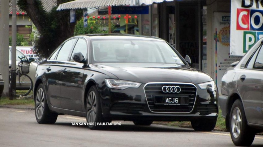 SPIED: Registered Audi A6 Hybrid spotted in Melaka Image #152561