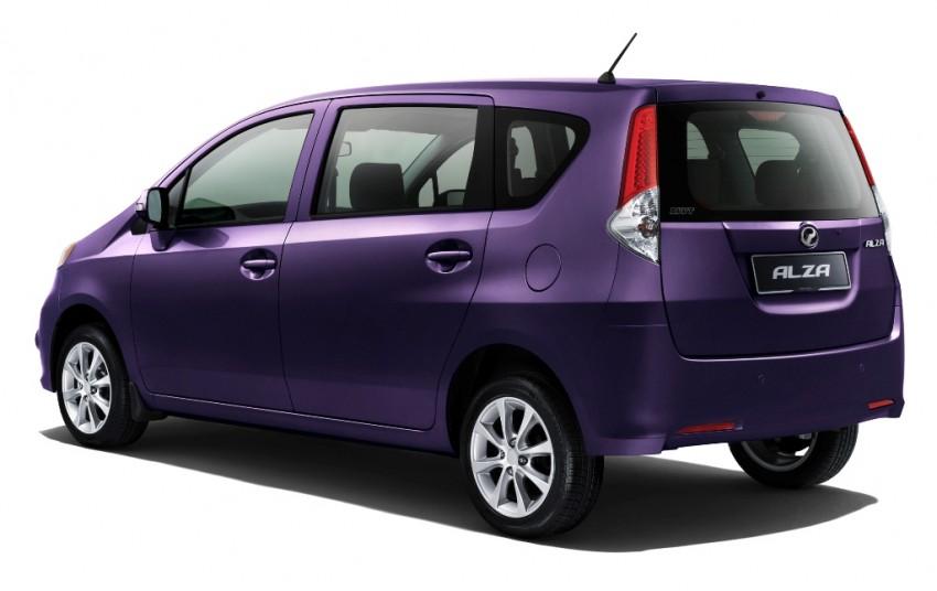 New Perodua Alza SR – entry level variant from RM53k Image #86171
