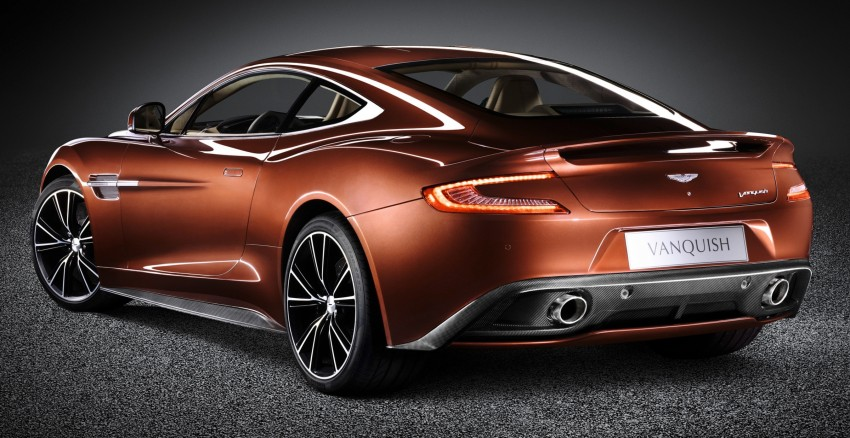 Aston Martin Vanquish – the new AM 310 arrives Image #113479