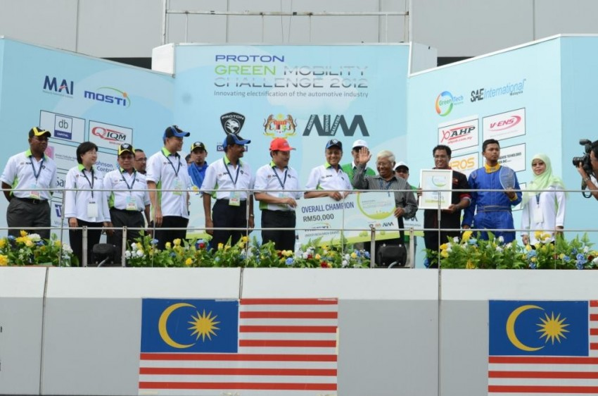 Proton Green Mobility Challenge: IIUM is overall champion, UMP and UTeM are runners-up Image #135444