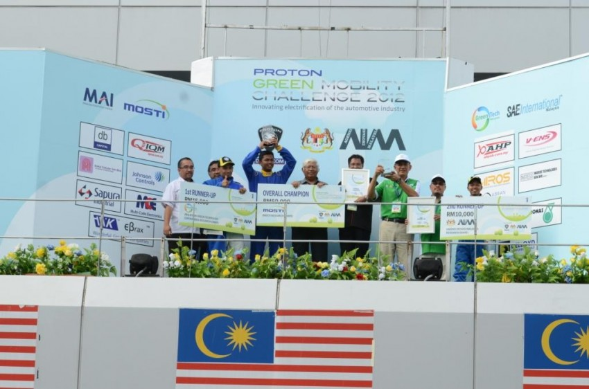 Proton Green Mobility Challenge: IIUM is overall champion, UMP and UTeM are runners-up Image #135447