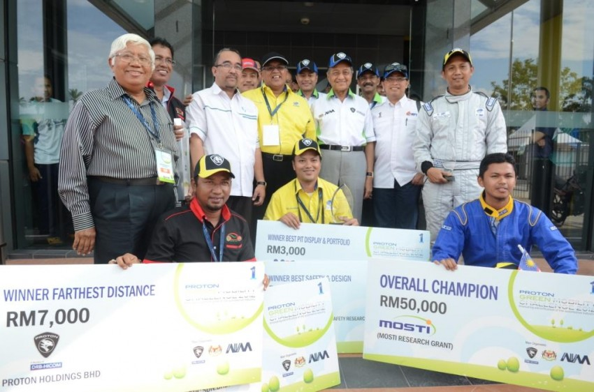 Proton Green Mobility Challenge: IIUM is overall champion, UMP and UTeM are runners-up Image #135448