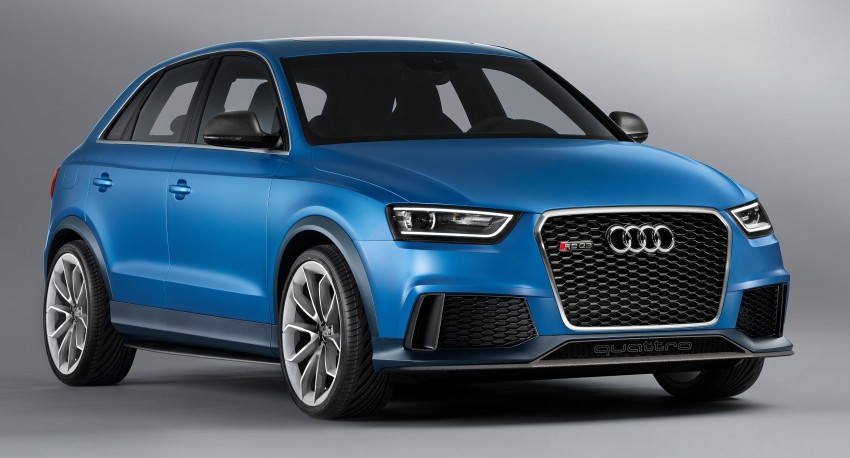 Audi RS Q3 concept to break cover in Beijing Motor Show Image #102911