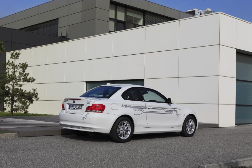DRIVEN: BMW ActiveE, an electric 1-Series coupe Image #73167