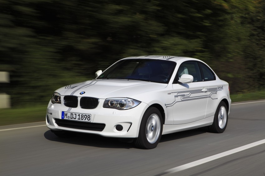 DRIVEN: BMW ActiveE, an electric 1-Series coupe Image #73168