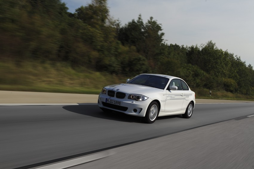 DRIVEN: BMW ActiveE, an electric 1-Series coupe Image #73169