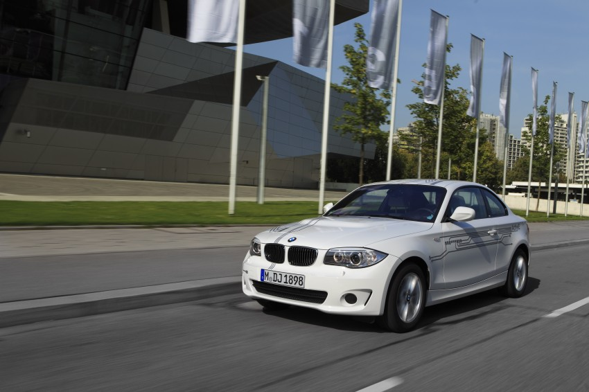 DRIVEN: BMW ActiveE, an electric 1-Series coupe Image #73171