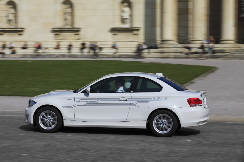 DRIVEN: BMW ActiveE, an electric 1-Series coupe Image #73173