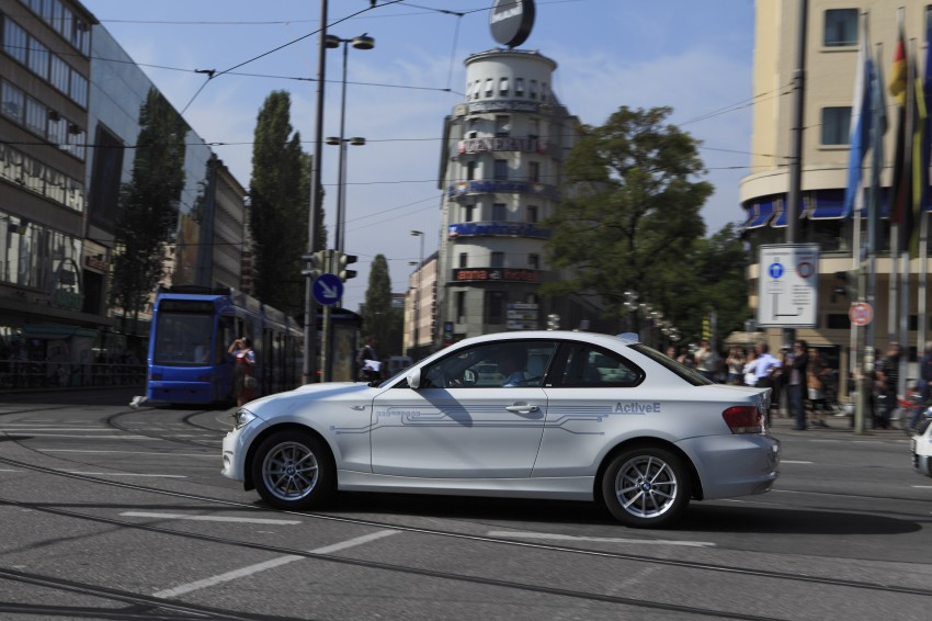 DRIVEN: BMW ActiveE, an electric 1-Series coupe Image #73174