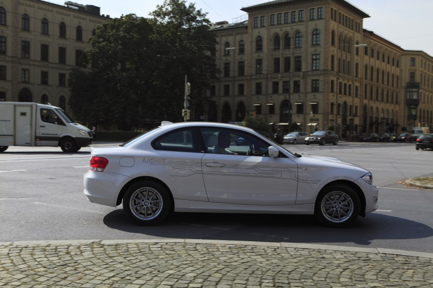 DRIVEN: BMW ActiveE, an electric 1-Series coupe Image #73175