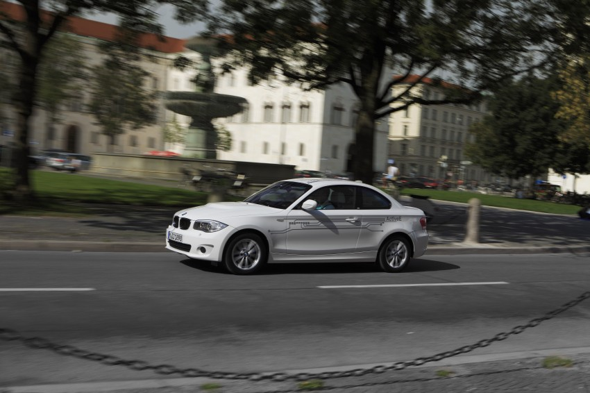 DRIVEN: BMW ActiveE, an electric 1-Series coupe Image #73176