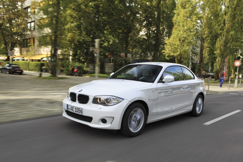 DRIVEN: BMW ActiveE, an electric 1-Series coupe Image #73177