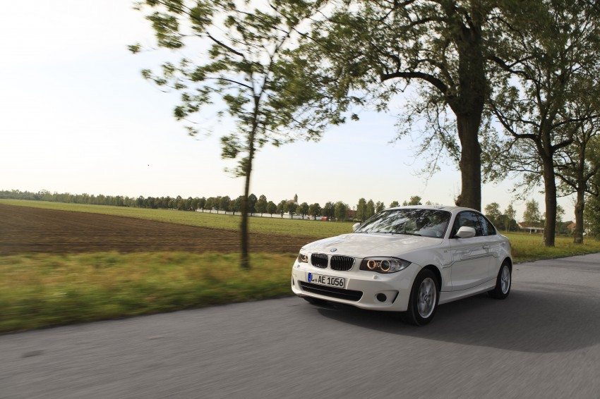 DRIVEN: BMW ActiveE, an electric 1-Series coupe Image #73180