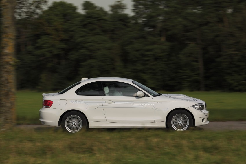 DRIVEN: BMW ActiveE, an electric 1-Series coupe Image #73181