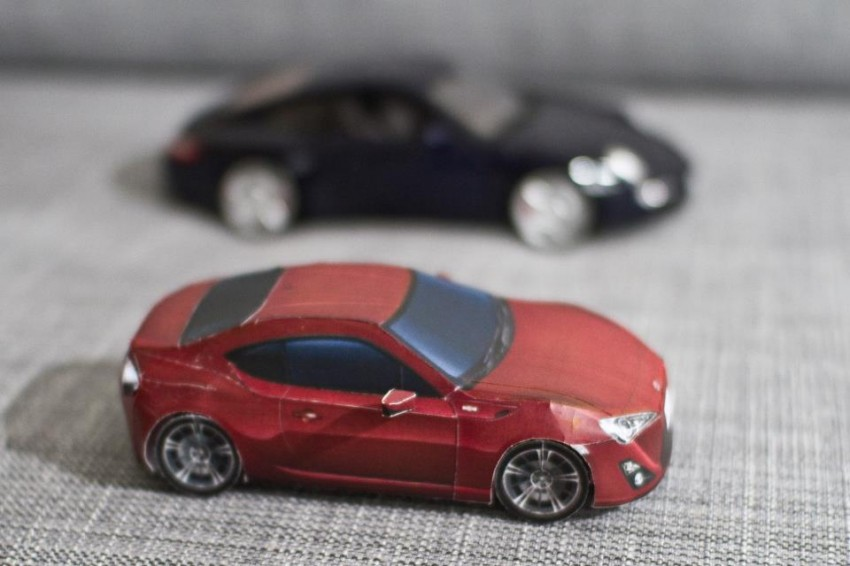 Toyota 86 assembled. Photo taken. Prize will be won. Image #104237