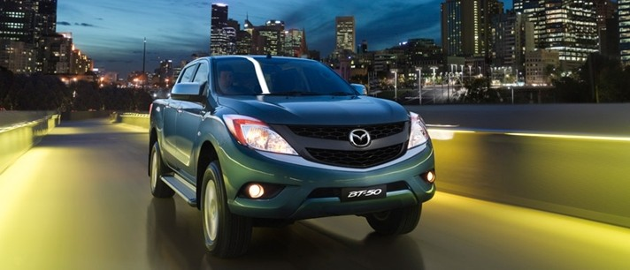Mazda BT-50 pick-up truck sighted at Westport Image #114009