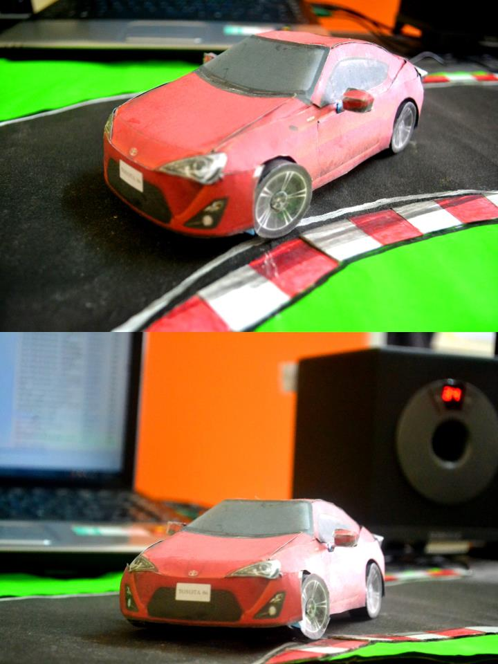 Toyota 86 assembled. Photo taken. Prize will be won. Image #104239