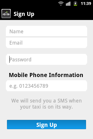 MyTeksi: book a taxi in Malaysia using an app Image #110529
