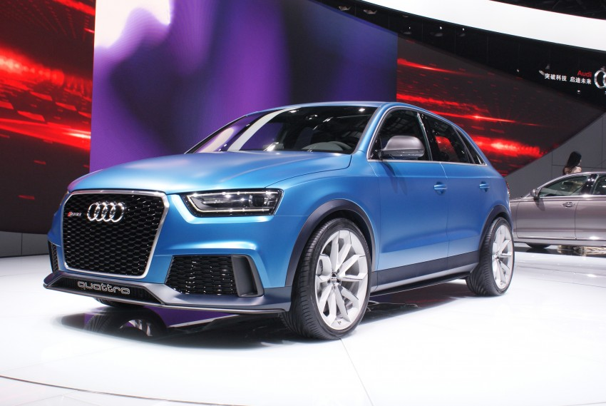 Audi RS Q3 concept to break cover in Beijing Motor Show Image #103243