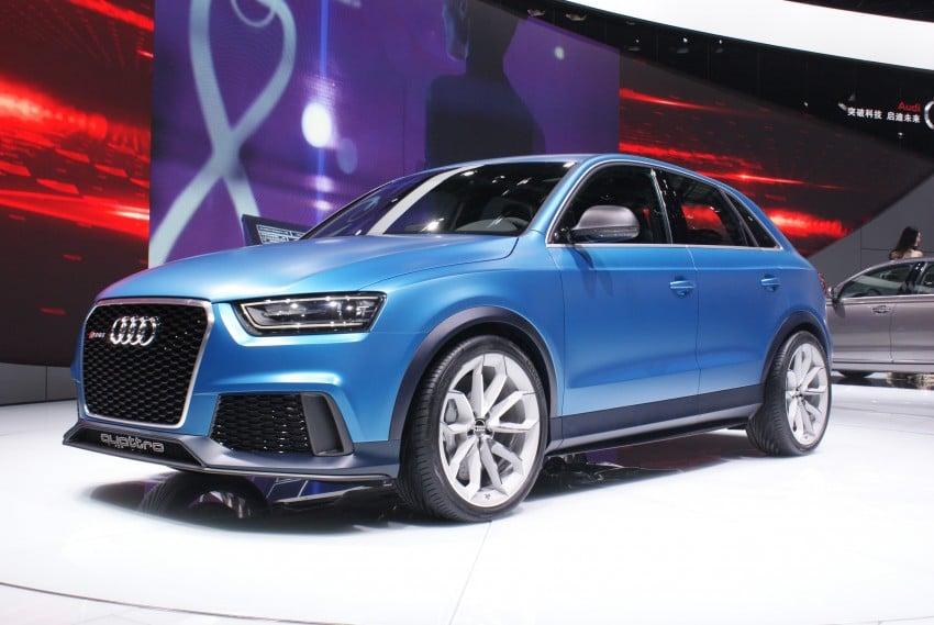 Audi RS Q3 concept to break cover in Beijing Motor Show Image #103241