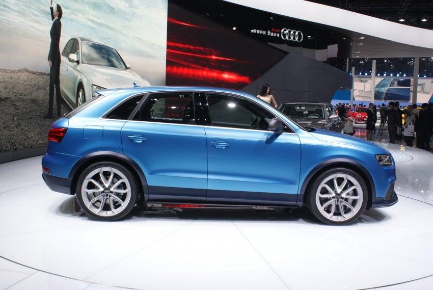 Audi RS Q3 concept to break cover in Beijing Motor Show Image #103240