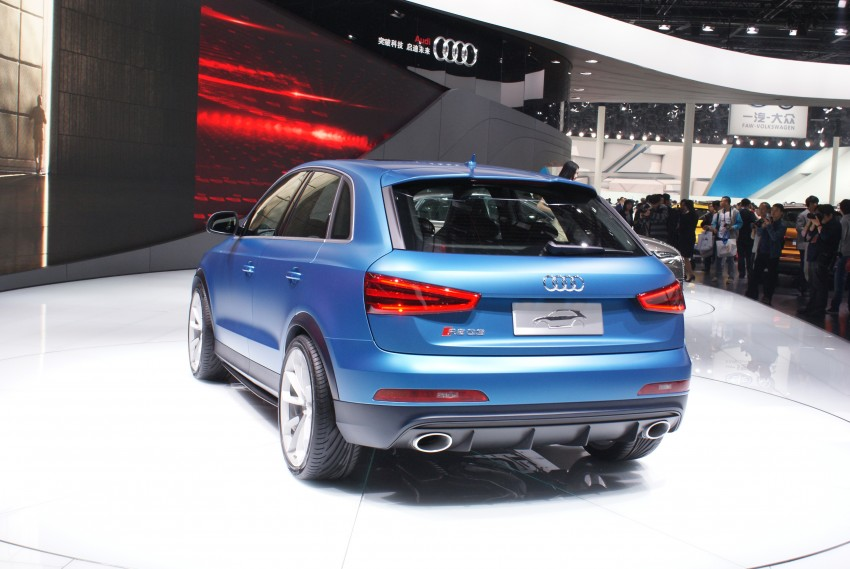 Audi RS Q3 concept to break cover in Beijing Motor Show Image #103242