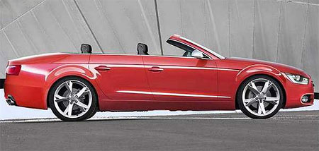 Initial details for Audi A7 four-door coupe revealed!