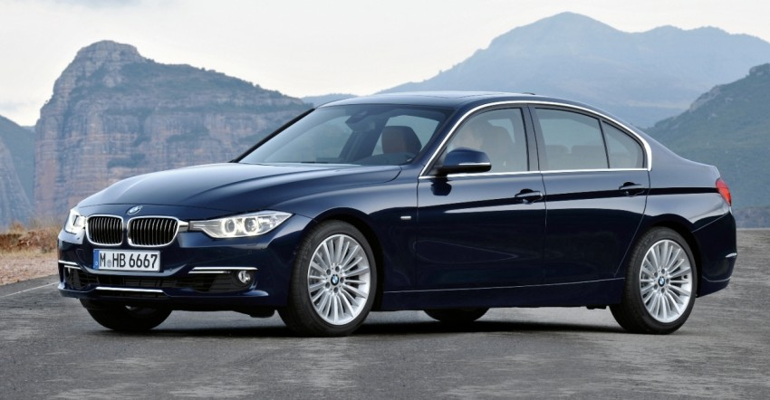 BMW 328i and 320d: locally-assembled F30 launched Image #110359