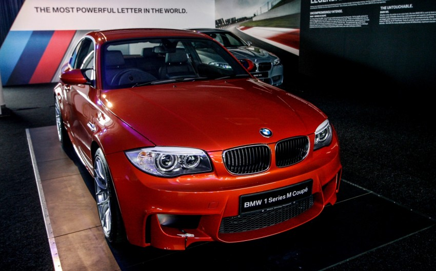 BMW 1 Series M Coupe: only 3 for Malaysia, RM509k Image #113389