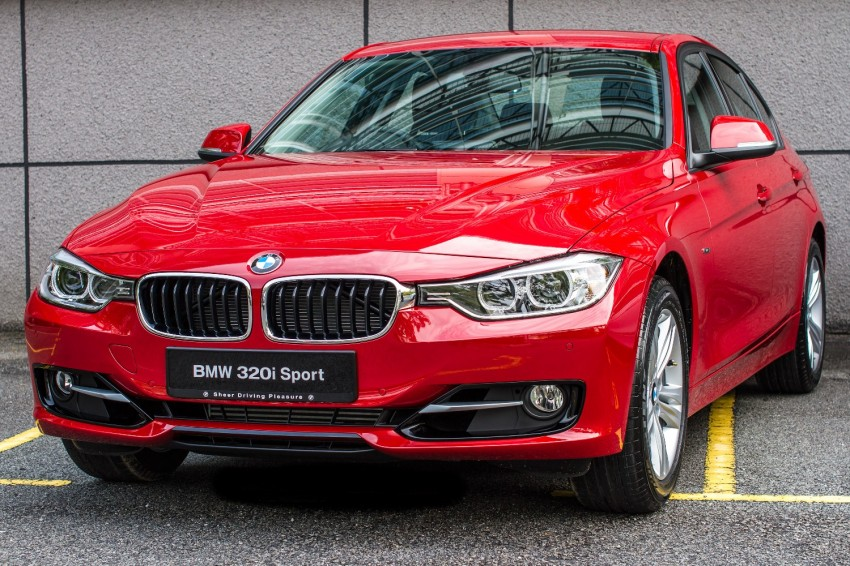 F30 BMW 320i Luxury and Sport launched: RM239k Image #131912