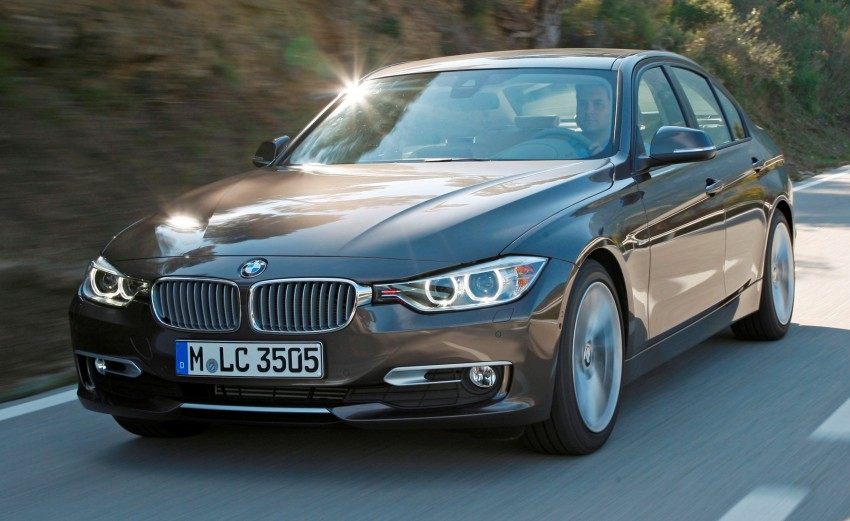 BMW 328i and 320d: locally-assembled F30 launched Image #110358